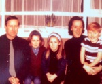 I think this may have been a couple of christmases before the recording. That's me in the middle.